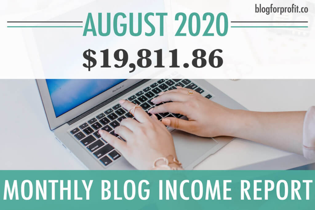 blog income report august 2020